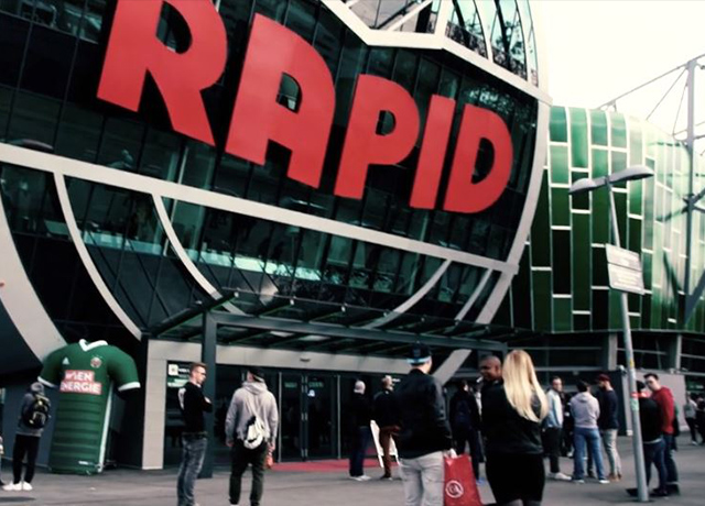 E-BUNDESLIGA EVENT FILM VIENNA RAPID